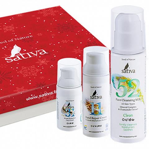 Sativa Набор косметических средств
