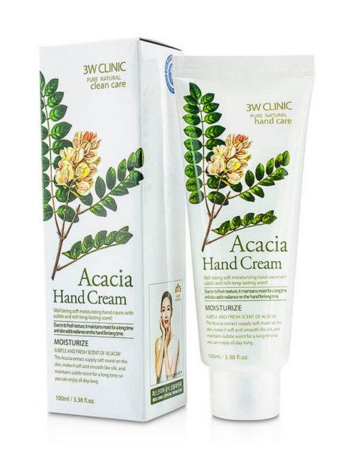 Для рук и ногтей Крем для рук 3W CLINIC АКАЦИЯ Acacia Hand Cream 100 мл 19038648-1.jpg