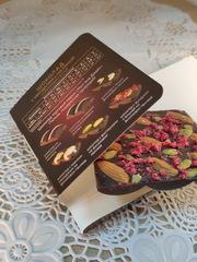Шоколад на финиковом пекмезе с миндалём и малиной, 70 г