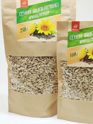 Семена подсолнечника очищенные, 250 г