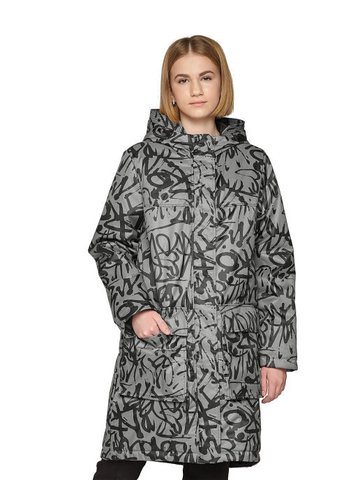 Куртка демисезонная КМ 1182 (серый)