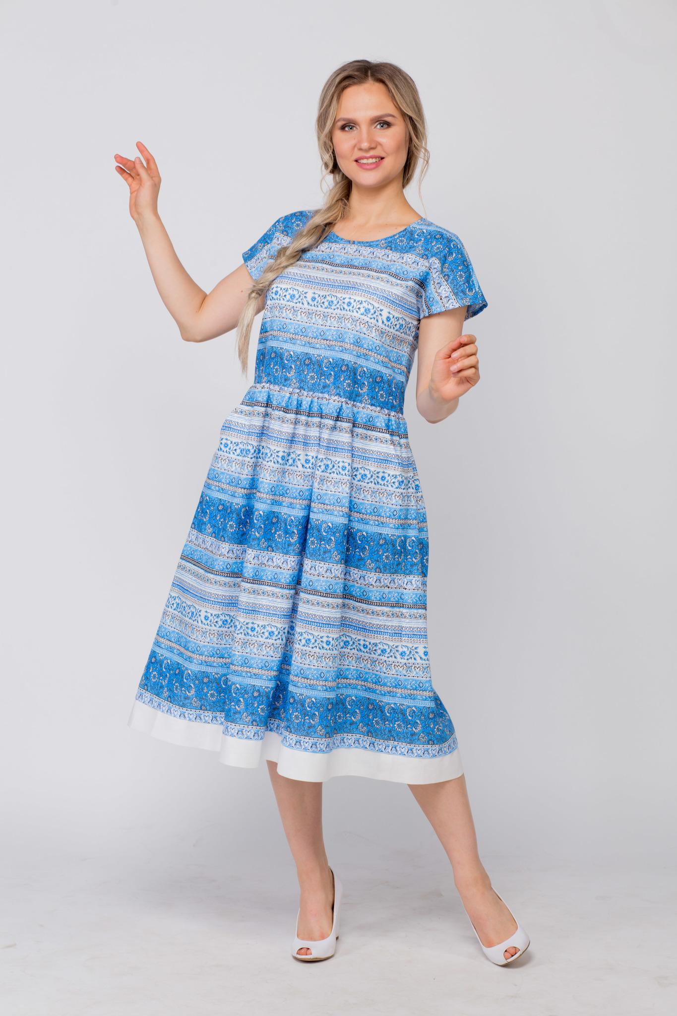 Платье льняное Летний сон