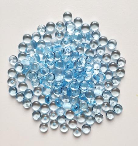 Фишболы для слайма гранулят голубой