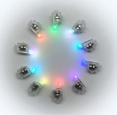 Светодиоды разноцветные (мигающие), 10 шт.