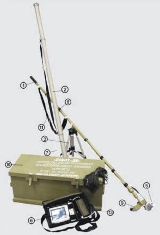 Устройство для дистанционного исследования минновзрывных устройств «ХОБОТ-ДИ»