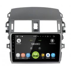 Штатная магнитола на Android 6.0 для Toyota Corolla E150 Roximo CarDroid RD-1104F