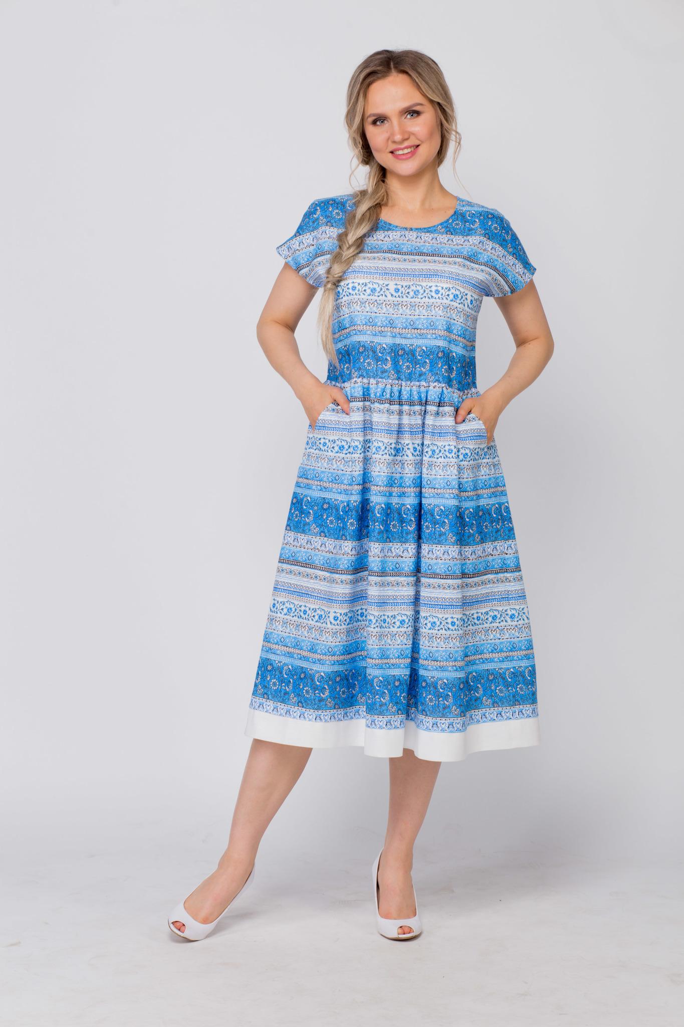 Платье Летний сон с карманами