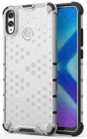 Чехол ударопрочный для Huawei Honor 8X от Caseport, серия Honey, прозрачный корпус