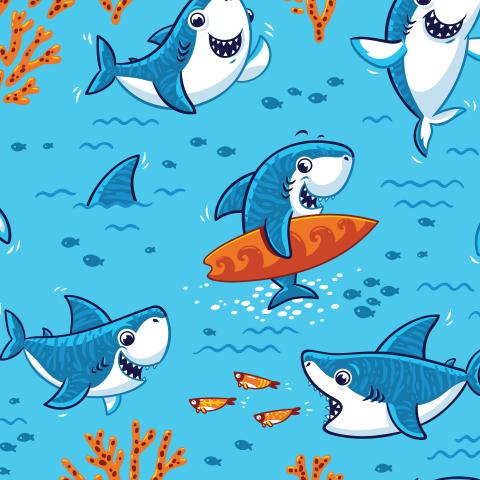Акулий серфинг