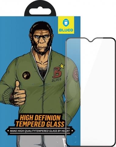 Защитное стекло BlueO для Xiaomi Redmi 9 закален. с олеоф.покр. | 2.5D рамка черное 0.26мм