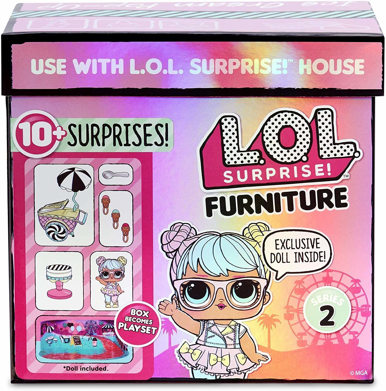 Игровой набор L.O.L. Surprise Furniture Ice Cream Pop-Up with Bon, 564911