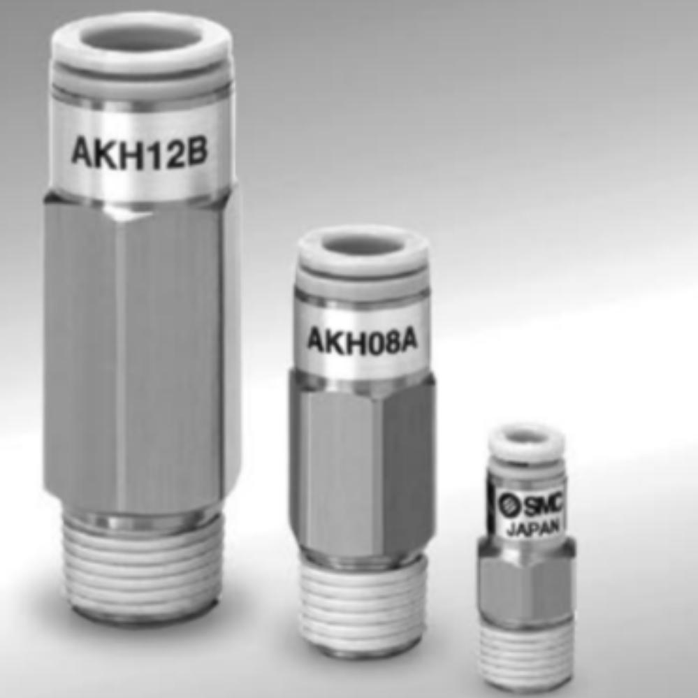 AKH04B-01S  Обратный клапан, R1/8