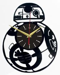 Звездные войны Часы из Пластинки — Робот дроид BB-8