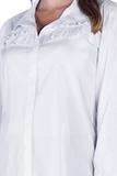 Рубашка для беременных 09849 белый