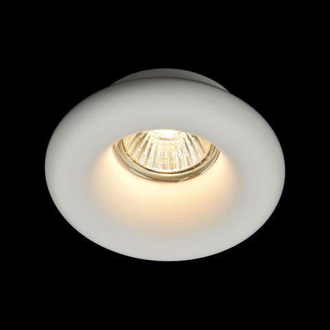 Встраиваемый светильник Maytoni Gyps Modern DL006-1-01-W