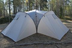Палатка кемпинговая Talberg Delta 6 зеленый - 2