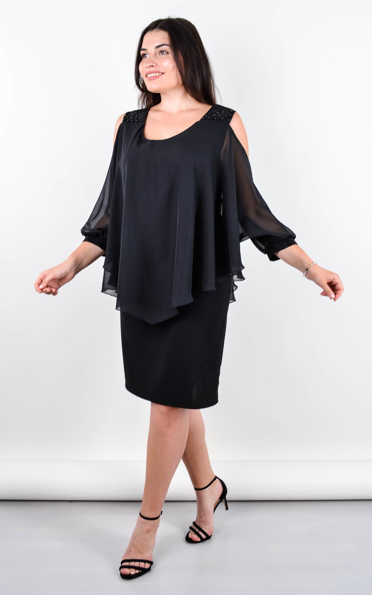Нарядное платье Мери (Черный)