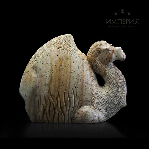Резьба, статуэтки Верблюд из аушкульской яшмы Verblud.jpg