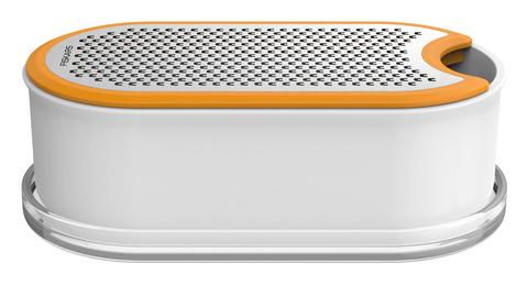 Терка Fiskars Functional Form 1019530 белый/оранжевый