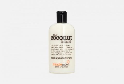 Treaclemoon Гель для душа Кокосовый Рай My coconut island bath & shower gel, 500 ml