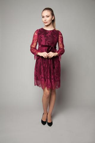 Платье вечернее из гипюра с кружевами интернет магазин