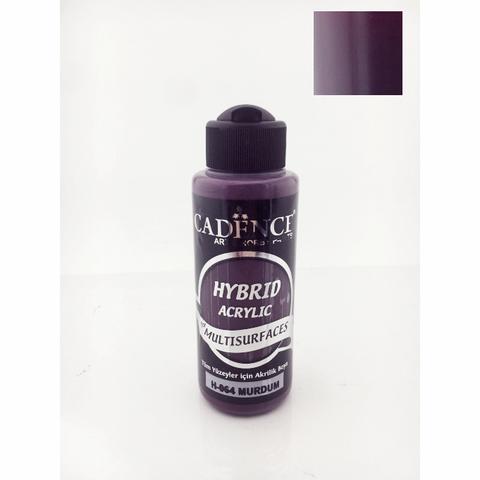 №64 Hybrid Acrylic, Слива, 70мл., Cadence
