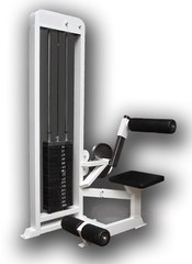 Пресс-машина и тренажер разгибание спины (стек 100кг.) PROFI.