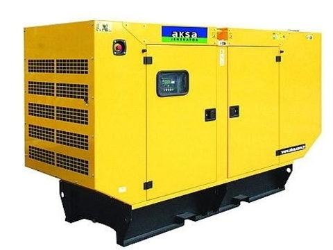 Дизельный генератор Aksa APD-145C в кожухе