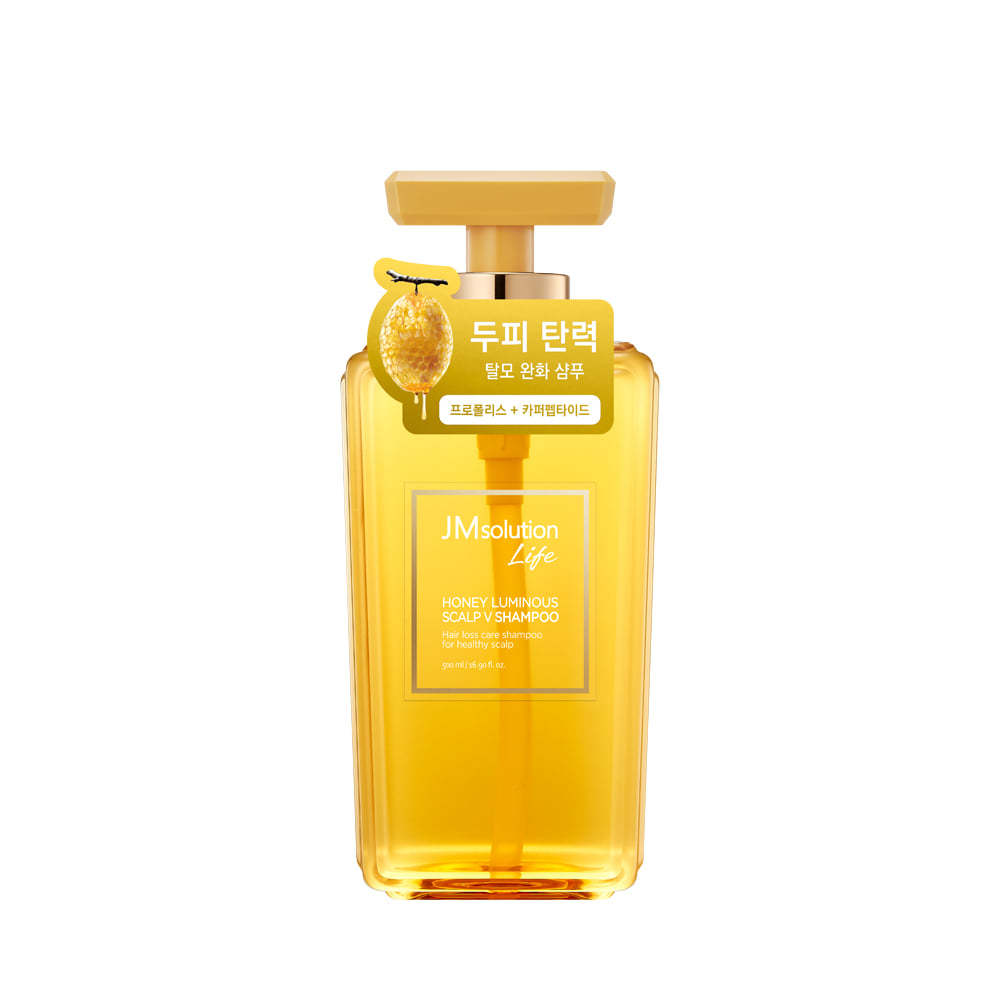 Шампунь против выпадения волос и перхоти с экстрактом меда LIFE HONEY LUMINOUS SCALP V SHAMPOO, 500 мл