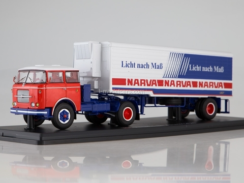 Skoda LIAZ 706RTTN + semitrailer ALKA N12CH Narva 1:43 Start Scale Models (SSM)