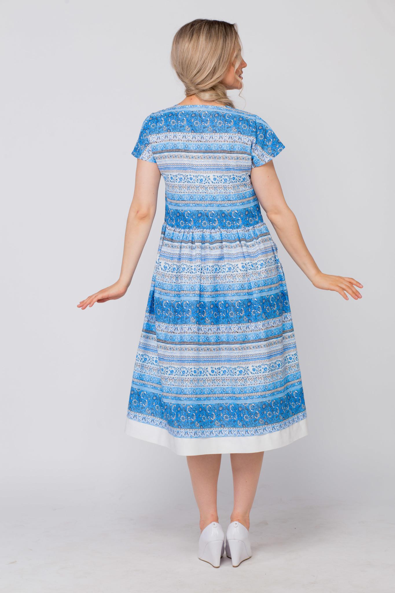 Платье Летний сон вид сзади