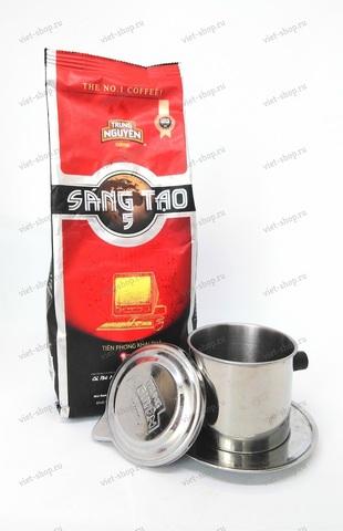 ьетнамский молотый кофе Trung Nguyen Sang Tao №5, 340 гр.