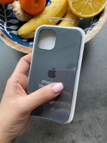 iPhone 12 (5,4) Silicone Case Full /charcoal grey/