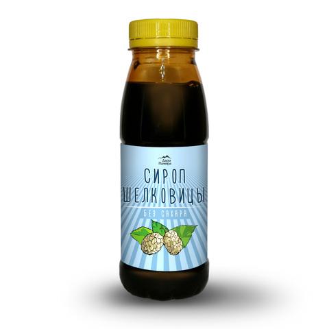 Сироп из шелковицы, натуральный, Турция, без сахара 330 г