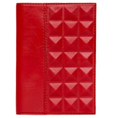 Обложка на паспорт | Геометрия | Красный