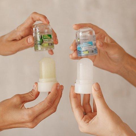 "Дезодорант-кристалл Tropicana Cirystal Deodorant Natural ""Pure Cristal"""