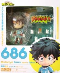 Nendoroid Izuku Midoriya: Hero's Edition (My Hero Academia)    Мидория