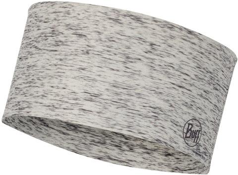 Повязка на голову спортивная Buff Headband CoolNet Silver Htr фото 1