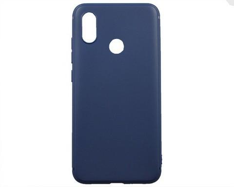 Чехол для Xiaomi Mi8 силикон | синий