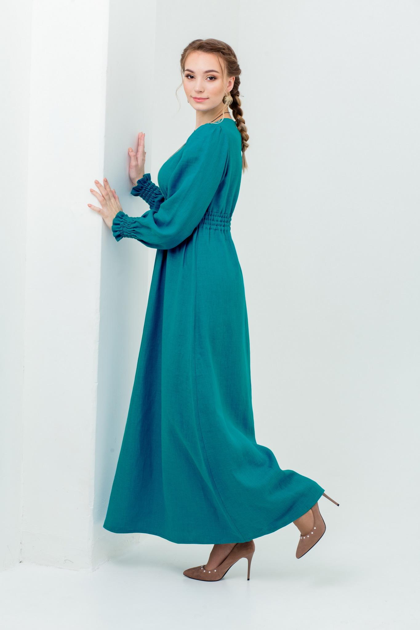 Славянское платье на праздник Лунный свет