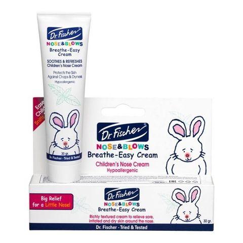 Крем для кожи вокруг носа для младенцев и детей «Дыши Свободно» Dr.Fischer, 30 гр