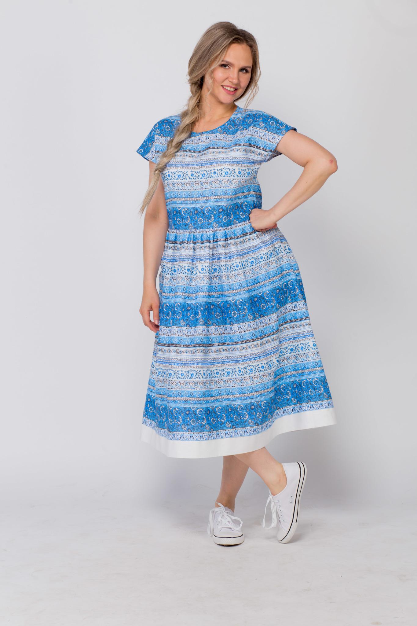 Платье Летний сон с кедами