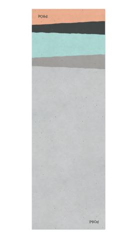 Коврик для йоги Asana Travel Layers 183*61*0,2 см из микрофибры и каучука