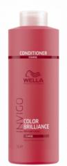 WELLA INVIGO COLOR BRILLIANCE Бальзам-уход для защиты цвета окрашенных жестких волос 1000 мл