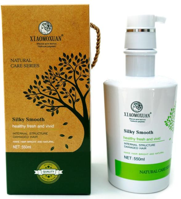 XIAOMOXUAN Silky Smooth Hair Mask маска для восстановления и питания волос 550мл