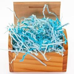 Наполнитель бумажный, Голубой, 50 гр.