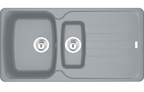 Кухонная мойка Franke AZG 651, серый камень