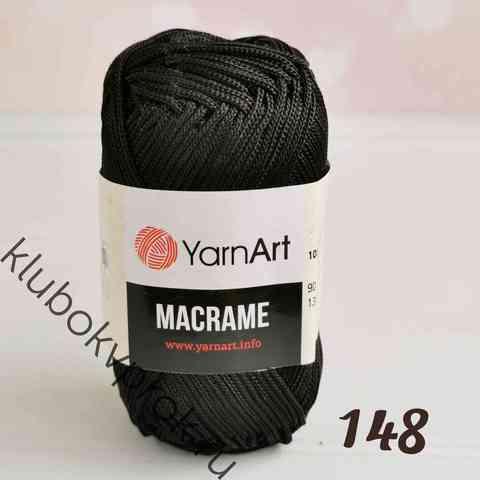 YARNART MACRAME 148, Черный