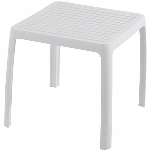 Стол Aquaviva Wave (420х365х420 мм), белый / 26964