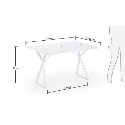 Консольный стол ATIK белый